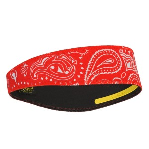 Halo II SweatBlock Headband - Paisley Red
