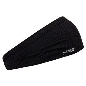 Halo Bandit Air 4 Inch Tapered Sweat Seal Headband - Black